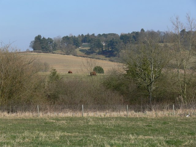 Countryside east of Burrough on the Hill