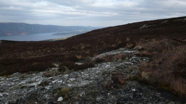 North slopes of Tom Bailgeann