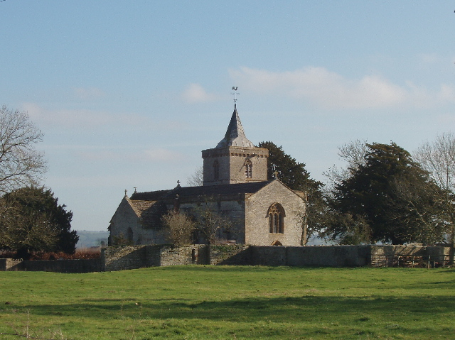 All Saints Church, West Camel, from Parsonage Road