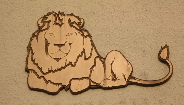 Sign for the Golden Lion