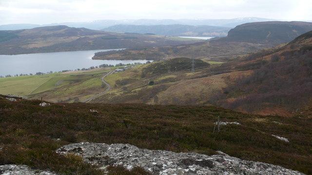 B862 and Loch Duntelchaig