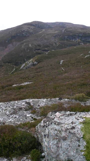 South from Creag Bhreac