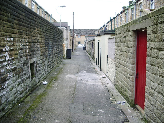 Back street, Brierfield