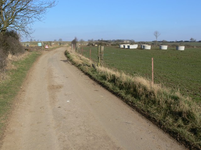 Lane to Somerby