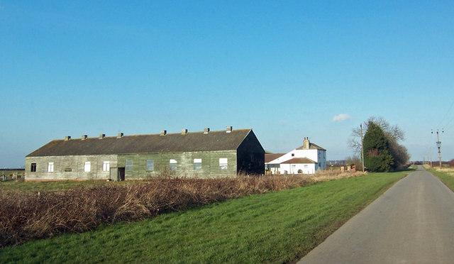 Barn on Chapel Field Road