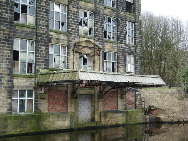 Lob Lane Mill, Brierfield, Canopy