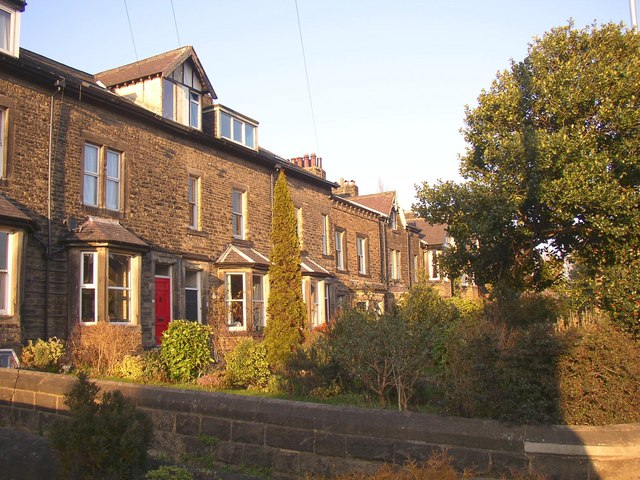 Terrace houses, Cross Green, Otley
