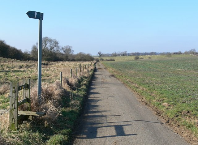 Newbold Road towards Newbold, Leicestershire