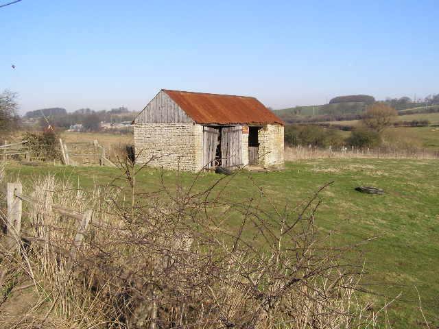 Old barn, near Valley Farm