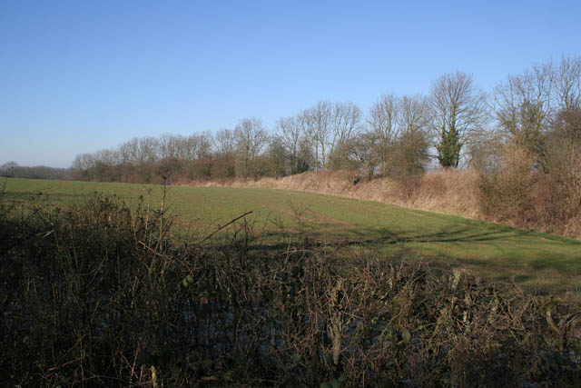 Old railway embankment