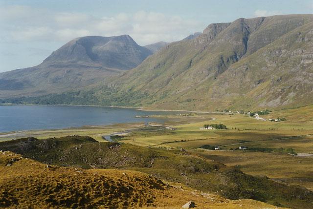 View northwest from below Carn Dhonnachadh