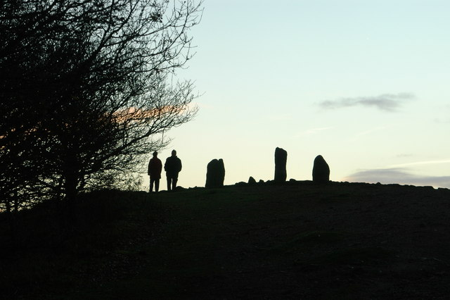 Dusk at Four Stones