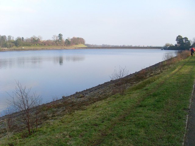 Easterly view across Mugdock Reservoir