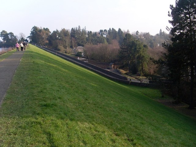 Road from Milngavie to Mugdock and Craigmaddie Reservoirs