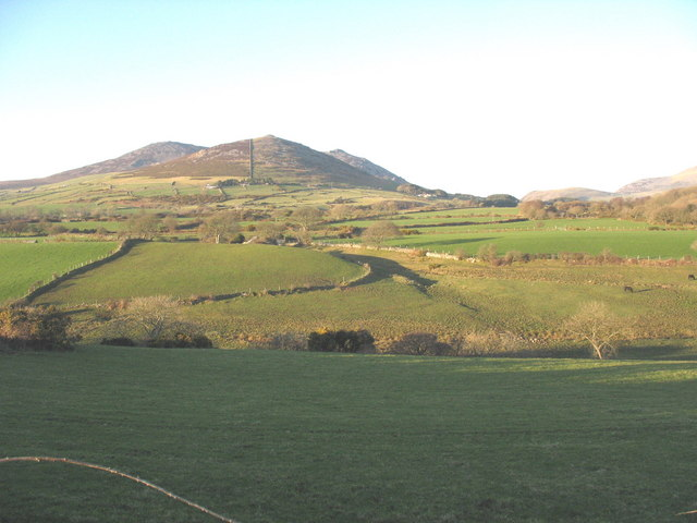View north across the Erch valley