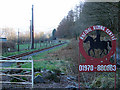 SN6579 : Rheidol Riding Centre by John Lucas