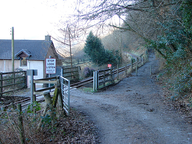 Crossing at Tan-yr-allt