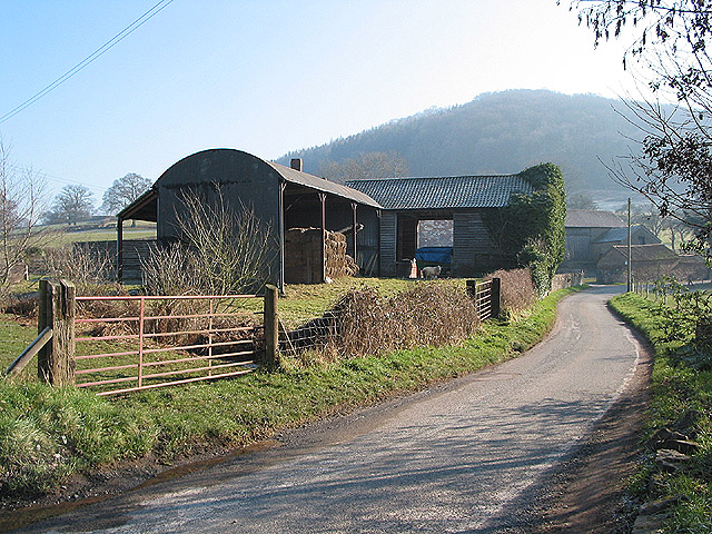 Rise Farm, south of Fownhope