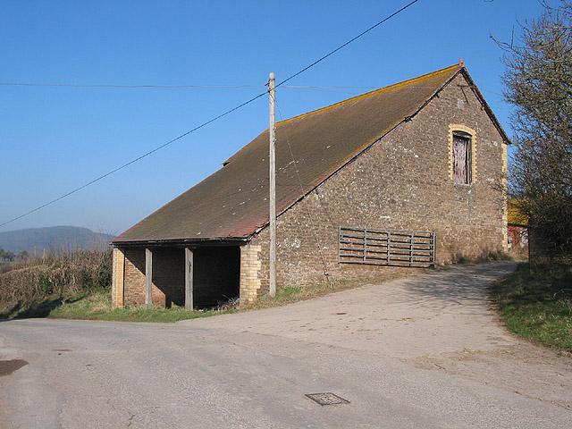 Split level barn at Oldstone Farm