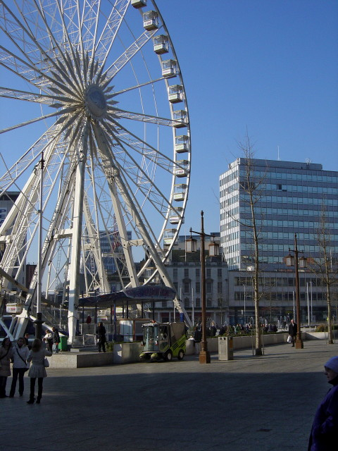 The Eye in the Old Market Square