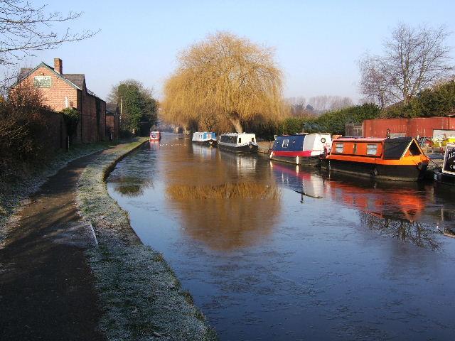 Crisp, Cold, Christleton Canal