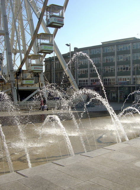 Fountains and the Eye