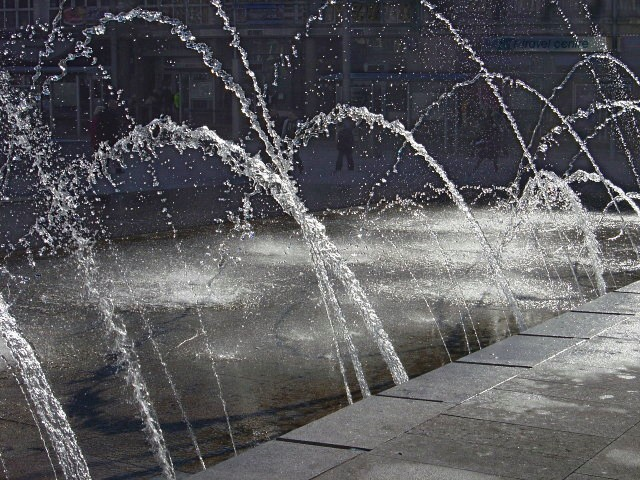 Fountains in the Square