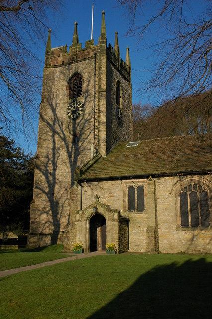 Pott Shrigley Church