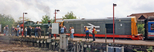 Trainspotters - Amersham, Buckinghamshire