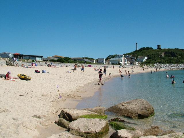 Beach in Hugh Town