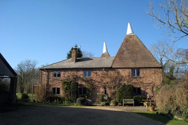 Oast House at Sarnden Farm, Coldharbour Road, Benenden, Kent