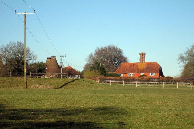 Ellenden Oast, Water Lane, Hawkhurst, Kent