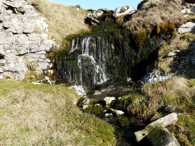 Waterfall on Shaw Gate Gill