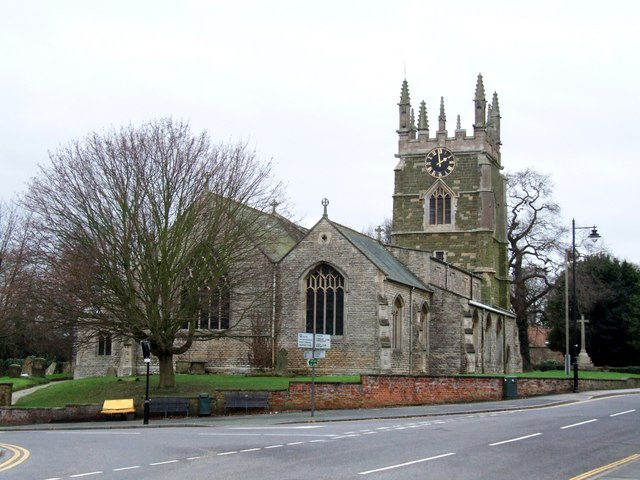 The Church of St James, Spilsby