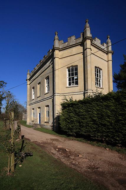 Banqueting House at Old Wardour Castle Park
