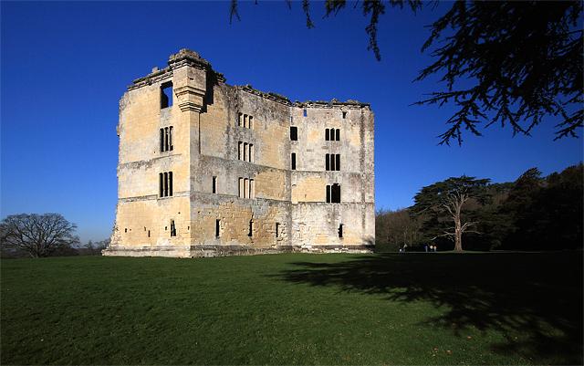 Old Wardour Castle ruins (2)