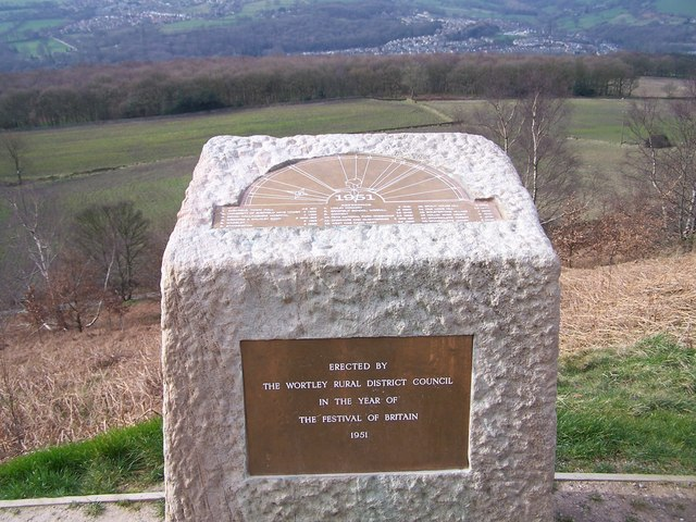 Viewpoint Stone on Jawbone Hill, Oughtibridge