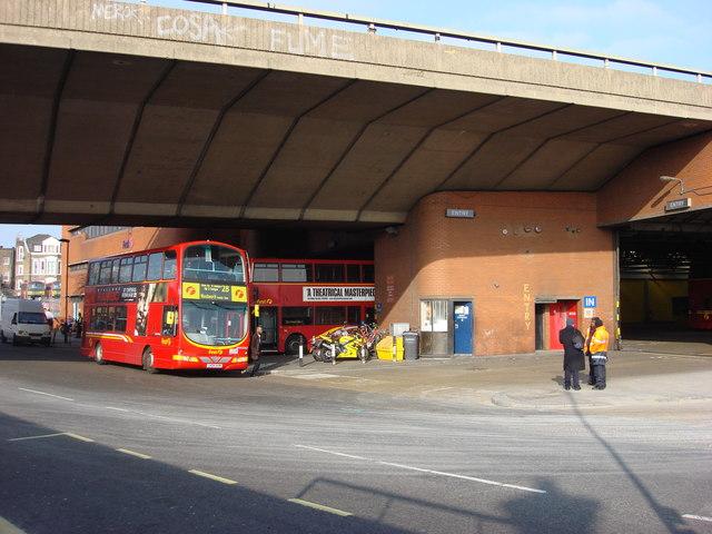 Westbourne park bus garage oxyman geograph britain for Garage ad buc