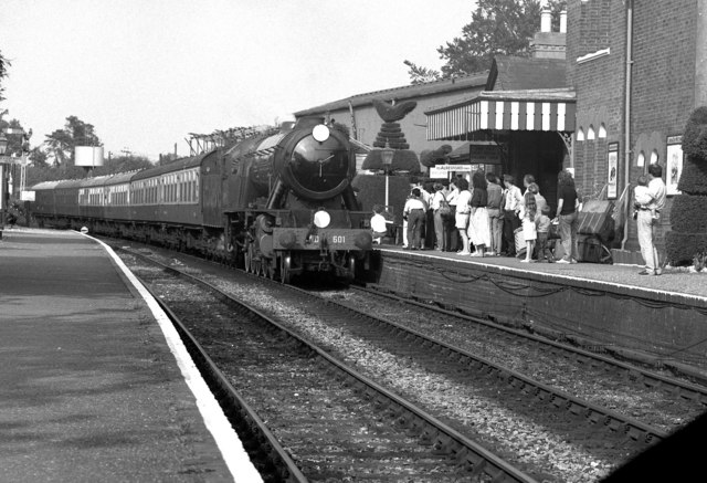 Ropley station, Mid-Hants Railway