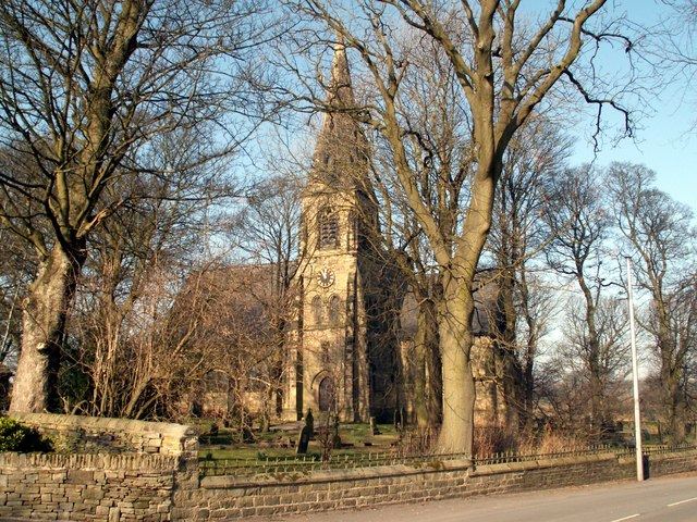 St Thomas Church Thurstonland