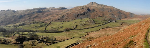Stickle Pike from Raven's Crag