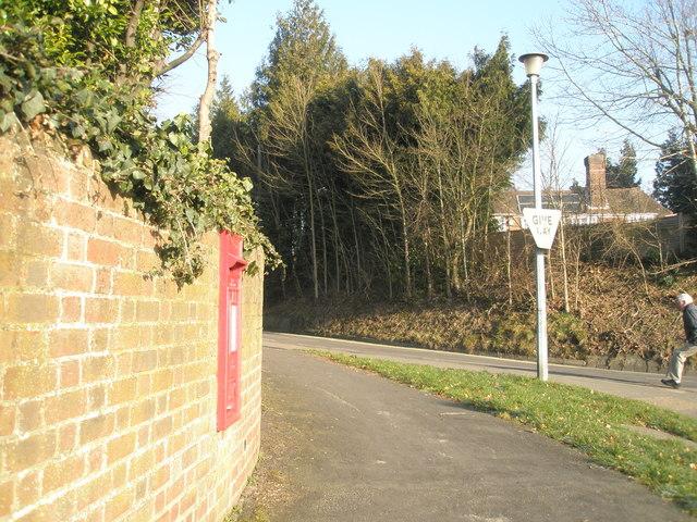 Post box at Heath Road Junction