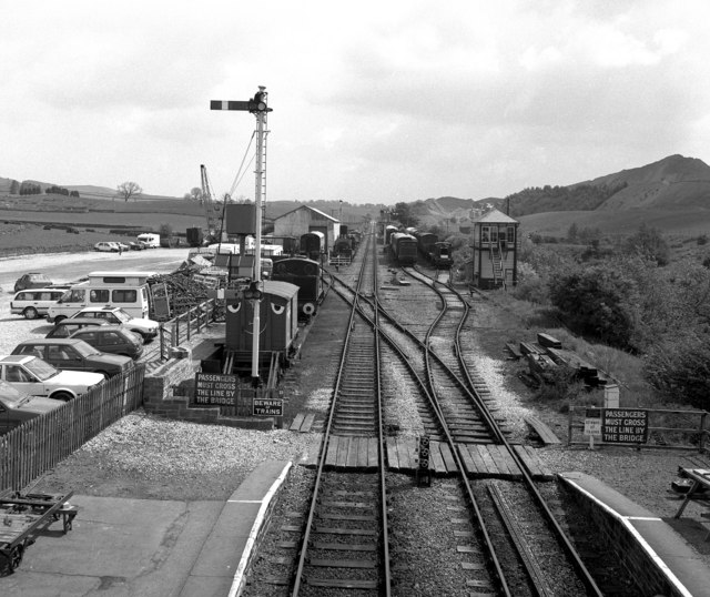 View east from Embsay station