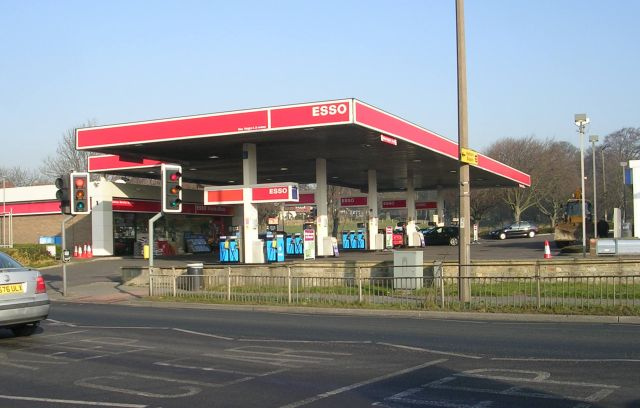 Esso Filling Station - New Road Side