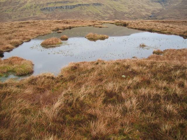 Small lochan on Beinn an Lochain