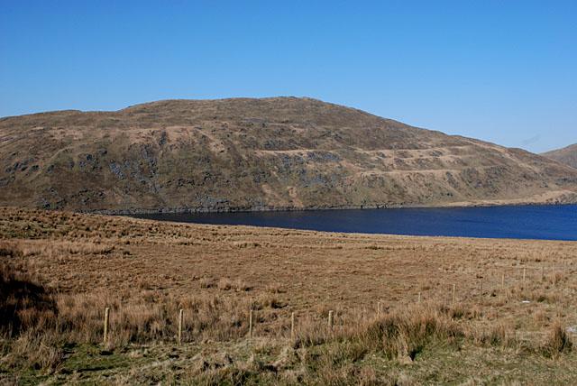 Hillside around Nant y Moch reservoir