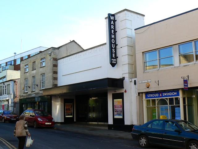 Warehouse nightclub, Russell Street, Stroud