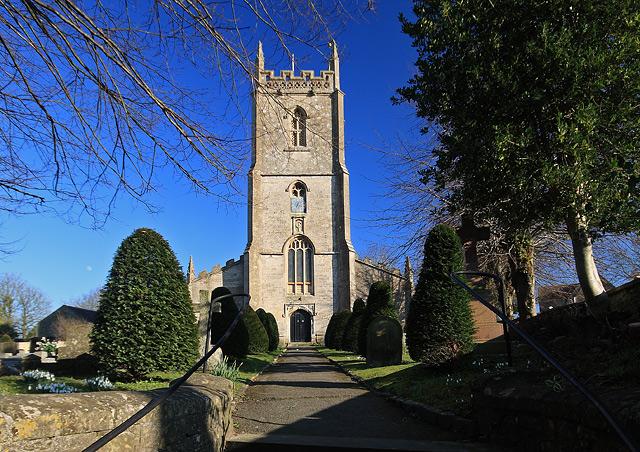 All Saints Church - Nunney