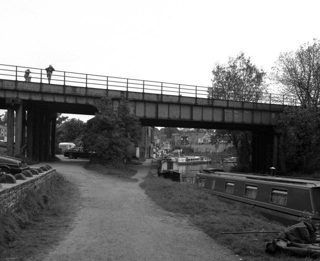 Foulridge wharf, Leeds and Liverpool Canal