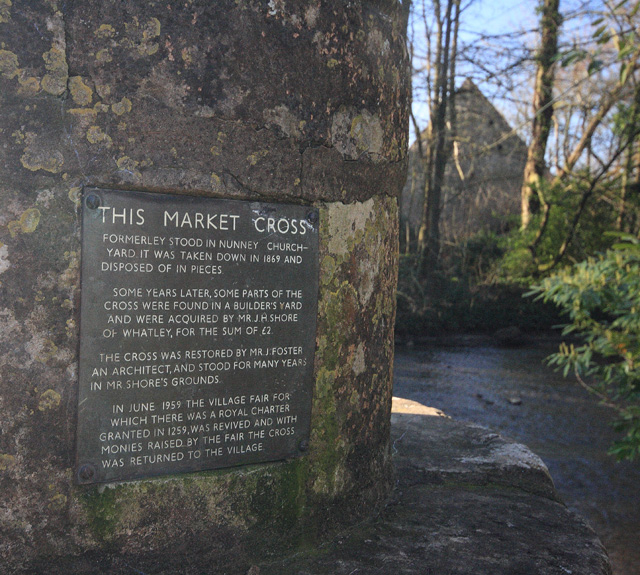 Nunney Market Cross Notice